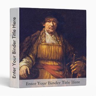 Autorretrato de Rembrandt Harmensz. Van Rijn