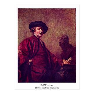 Autorretrato de sir Joshua Reynolds Postales