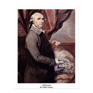 Autorretrato de Stubbs George Tarjeta Postal