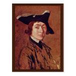 Autorretrato de Thomas Gainsborough Postal