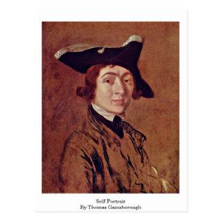 Autorretrato de Thomas Gainsborough Postales