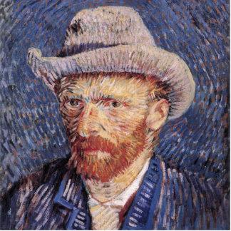 Autorretrato de Van Gogh con el sombrero de fieltr Esculturas Fotográficas