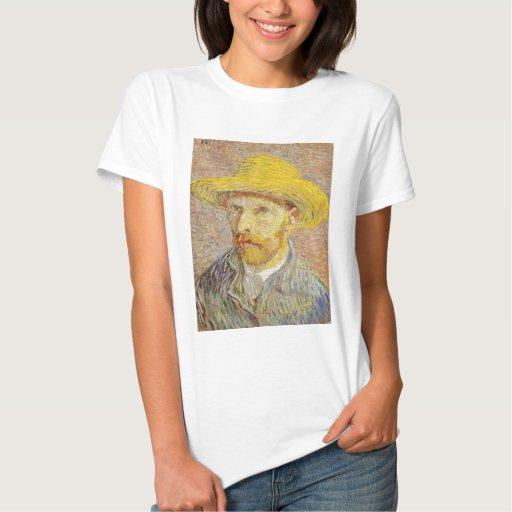 Autorretrato de Van Gogh con la camiseta del gorra Playera