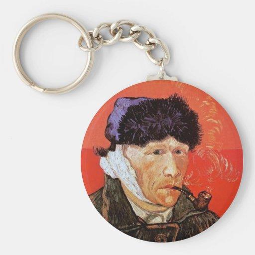 Autorretrato de Van Gogh con llavero vendado del o