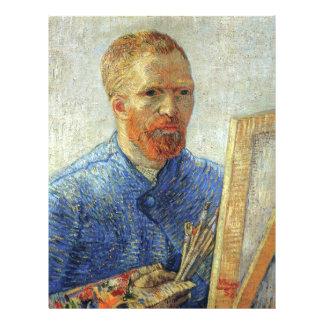 Autorretrato de Van Gogh Tarjeton