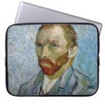 Autorretrato de Van Gogh Fundas Portátiles