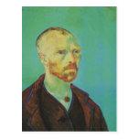 Autorretrato de Van Gogh para Paul Gauguin (F476) Postales