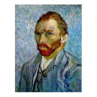 Autorretrato de Van Gogh Tarjeta Postal