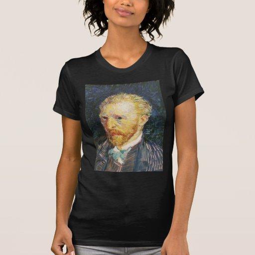 Autorretrato de Vincent van Gogh Camisetas