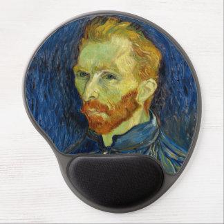 Autorretrato de Vincent van Gogh con la paleta Alfombrillas De Raton Con Gel