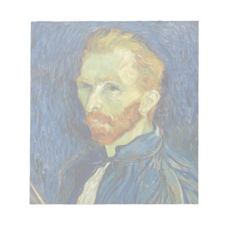 Autorretrato de Vincent van Gogh con la paleta Blocs De Papel