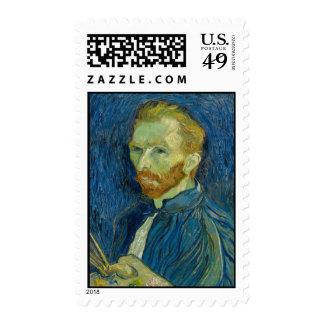 Autorretrato de Vincent van Gogh con la paleta Envio