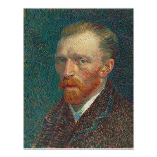 Autorretrato de Vincent van Gogh Tarjeta Publicitaria