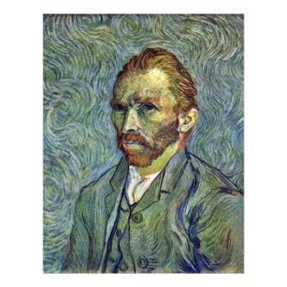 Autorretrato de Vincent van Gogh Tarjetas Informativas