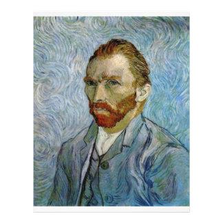 Autorretrato de Vincent van Gogh Tarjetón