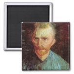 Autorretrato de Vincent van Gogh Imanes De Nevera