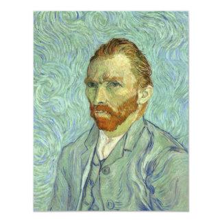 Autorretrato de Vincent van Gogh Invitación 10,8 X 13,9 Cm