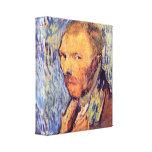 Autorretrato de Vincent van Gogh Lona Envuelta Para Galerías