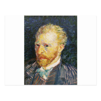 Autorretrato de Vincent van Gogh Tarjeta Postal