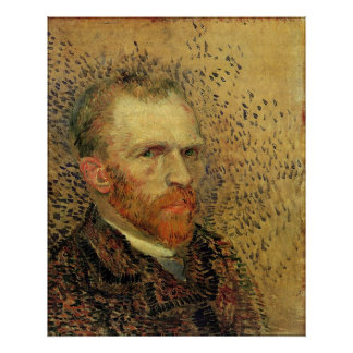 Autorretrato de Vincent van Gogh Póster