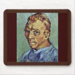 Autorretrato de Vincent van Gogh Tapete De Raton