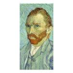 Autorretrato de Vincent van Gogh Tarjetas Fotográficas