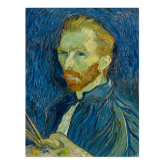 Autorretrato de Vincent van Gogh Tarjetas Postales
