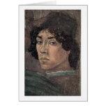 Autorretrato del artista de Filippino Lippi Felicitacion