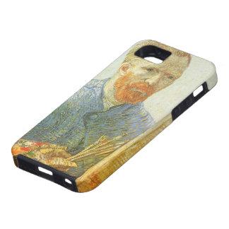 Autorretrato delante del caballete, Vincent van iPhone 5 Case-Mate Fundas