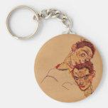 Autorretrato doble de Egon Schiele- Llavero Personalizado