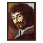 Autorretrato en la pintura de St Charles Borro Tarjeta Postal