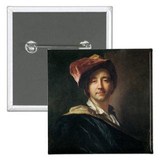 Autorretrato en un turbante, 1700 pin cuadrada 5 cm