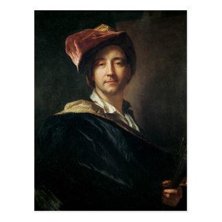 Autorretrato en un turbante, 1700 postal