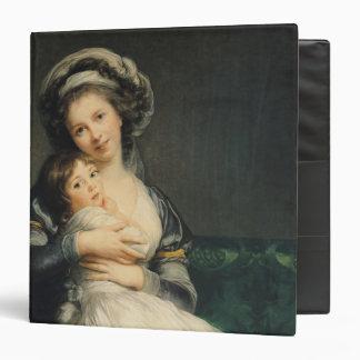 Autorretrato en un turbante con su niño, 1786