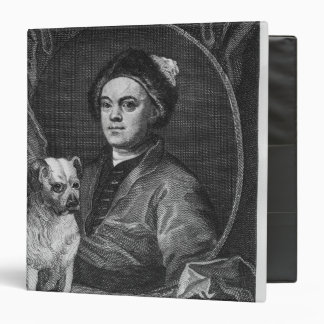 "Autorretrato, grabado por T. Cook, 1809 Carpeta 1 1/2"""