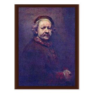 Autorretrato Por Rembrandt Van Rijn Tarjetas Postales