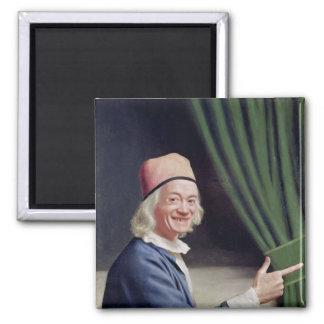 Autorretrato que sonríe, c.1770-73 imán para frigorifico