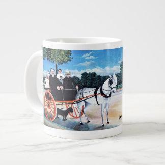 Autorretrato - taza enorme taza grande