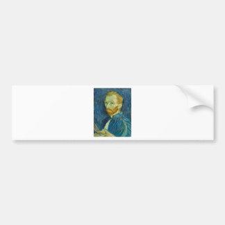 Autorretrato, Vincent van Gogh Pegatina Para Auto