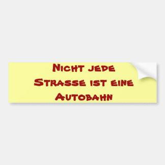 Autosticker Car Bumper Sticker