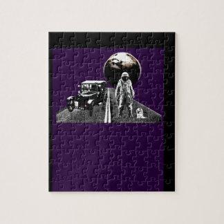 Autostopista del astronauta puzzles