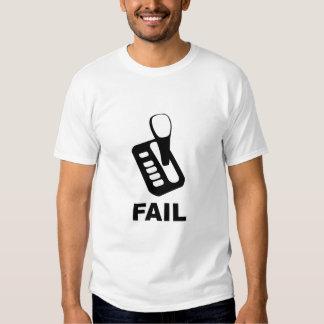 AutoTrans = FAIL, German Shift Pattern Tshirt