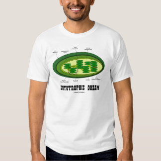 Autotrophic Dream (Biology Humor Food For Thought) T-shirt