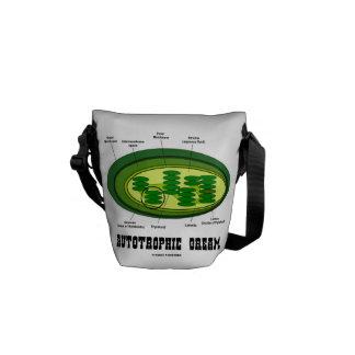 Autotrophic Dream (Chloroplast Biology Humor) Messenger Bag