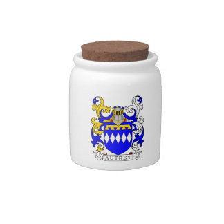 Autrey Coat of Arms Candy Dish