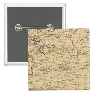 Autriche, Prusse, Confed Germanique, Pologne Pin