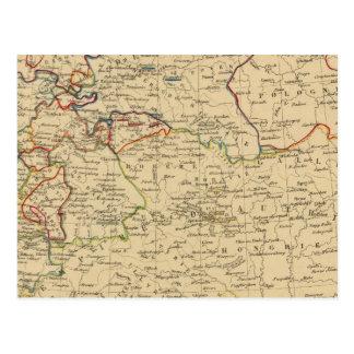 Autriche, Prusse, Confed Germanique, Pologne Postcard