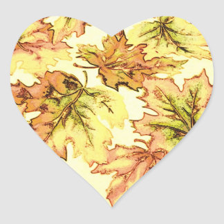 Autum Leaf Sticker