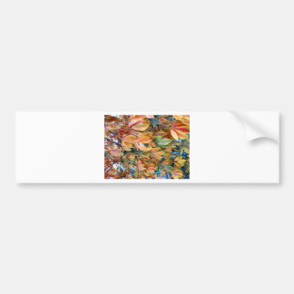 Autum Leafs Bumper Sticker