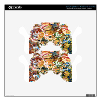 Autum Leafs Skin For PS3 Controller